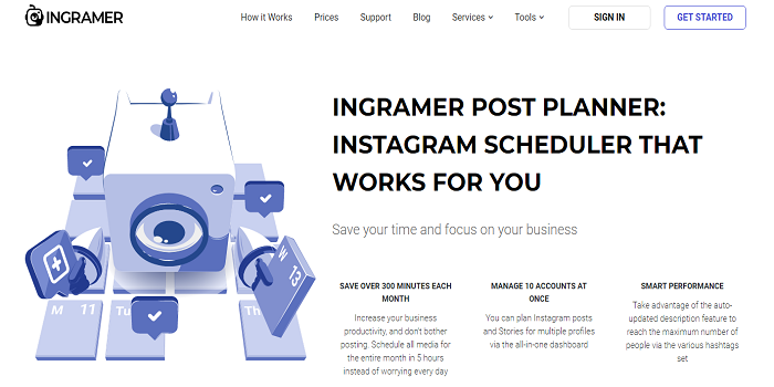 Schedule instagram post scheduler Posts